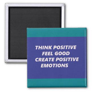 Aimant Trouvez la sensation positive bonne