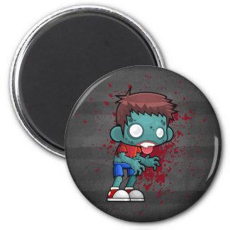 Aimant Type frais de zombi avec le sang/éclaboussure de