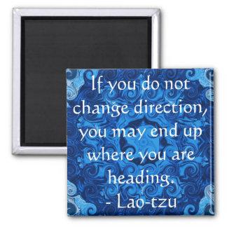 Aimant Tzu inspiré de motivation du Laotien de citation
