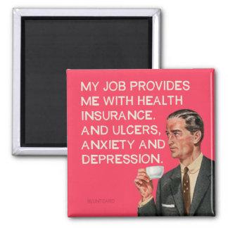 Aimant Ulcères et dépression d'assurance