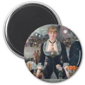 Aimant Une barre d'Edouard Manet chez le Folies-Bergère