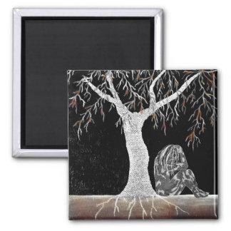 Aimant Une branche de la vie à contempler
