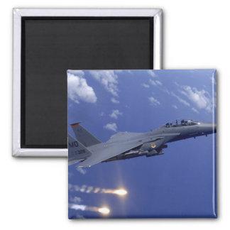 Aimant Une grève Eagle de l'Armée de l'Air F-15E