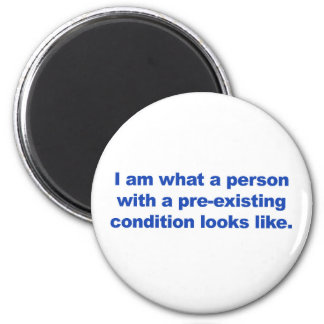 Aimant Une personne dans une condition préexistante