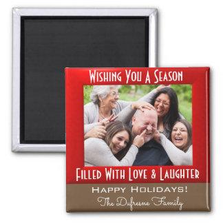 Aimant Une saison de Noël d'amour et de rire