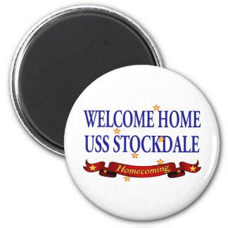 Aimant USS à la maison bienvenu Stockdale