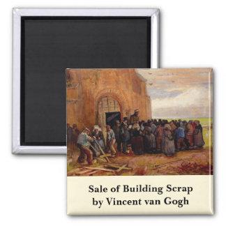 Aimant Van Gogh, vente de chute de bâtiment, beaux-arts