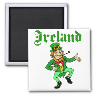 Aimant Vecteur - lutin Irlande