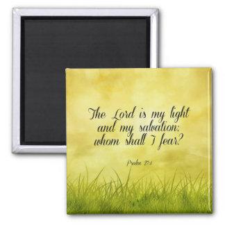 Aimant Vers de bible, 27:1 de psaume