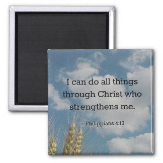 Aimant Vers de bible, 4h13 de Philippiens