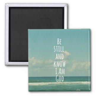 Aimant Vers de bible : Soyez toujours et sachez