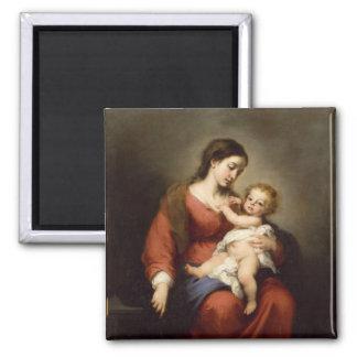 Aimant Vierge et enfant du Christ