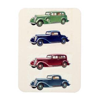 Aimant vintage de voitures magnet