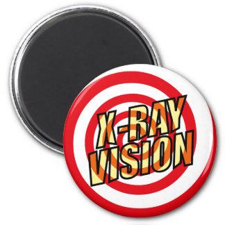 Aimant VISION de RAYON X de bande dessinée