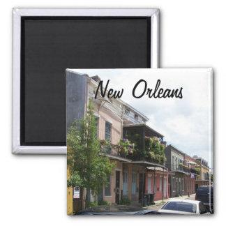 Aimant Vue la Nouvelle-Orléans Louisiane de rue de quarti