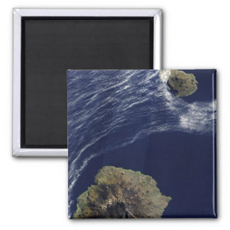 Aimant Vue satellite du prince Edouard Islands