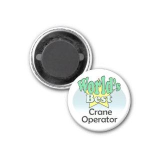 Aimant World's meilleur Crane vérifieur