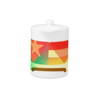 Aimez l'art de peinture de jet d'Emoji de drapeau