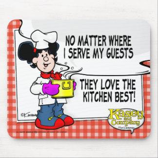 Aimez le meilleur de cuisine tapis de souris