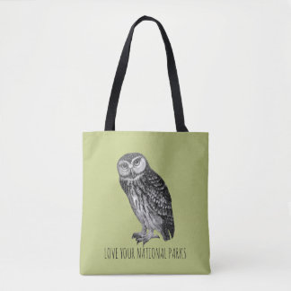 Aimez votre hibou No. de parcs nationaux sac
