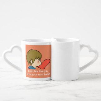 Aimez-vous amant comme vous amour votre propre mug