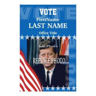 Ajoutez le modèle de campagne de la photo | prospectus 14 cm x 21,6 cm