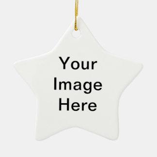 Ajoutez le PICS, les graphiques et le texte à 100s Ornement Étoile En Céramique