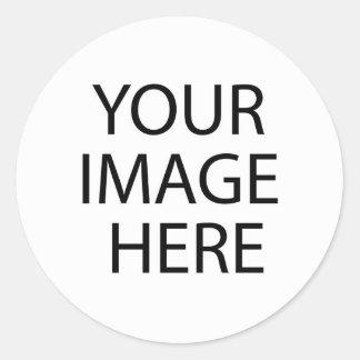 Ajoutez le PICS, les graphiques et le texte à 100s Sticker Rond