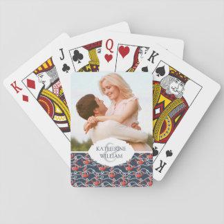 Ajoutez vos ancres et motif | nautiques nommés de cartes à jouer