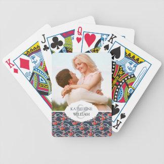 Ajoutez vos ancres et motif | nautiques nommés de jeu de cartes