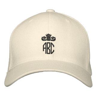 Ajoutez votre casquette brodé par monogramme casquette de baseball brodée