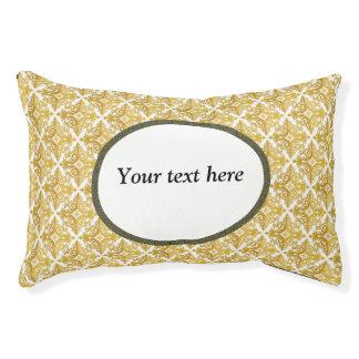 Ajoutez votre propre lit de chien des textes