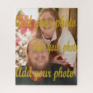 Ajoutez votre propre photo au beau puzzle