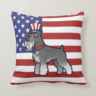 Ajoutez votre propres animal familier et drapeau coussin