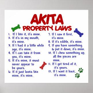 AKITA PL2 POSTERS