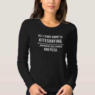 Al Zorg van I ongeveer is Sporten Kitesurfing T Shirts