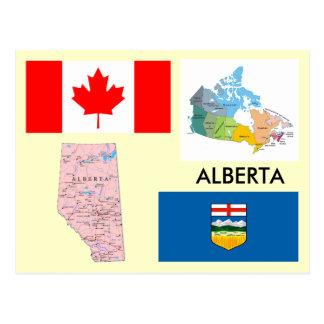 Alberta, Canada Carte Postale