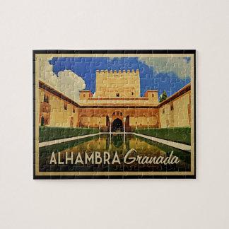 Alhambra Grenade Espagne Puzzle