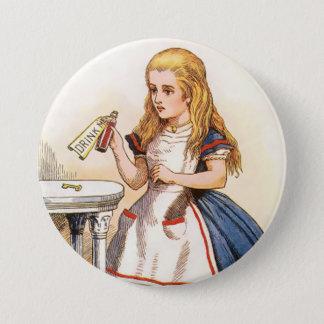 "Alice-Boisson-je - 3"" bouton Badge Rond 7,6 Cm"