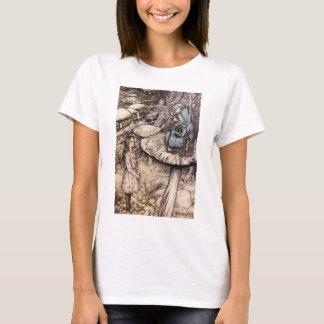 Alice dans le T-shirt de Caterpillar du pays des