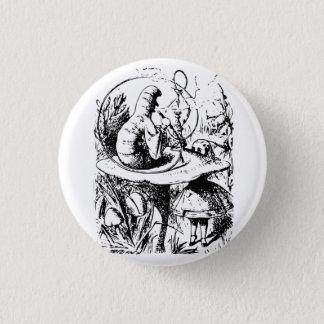 Alice dans l'insigne du pays des merveilles badge rond 2,50 cm