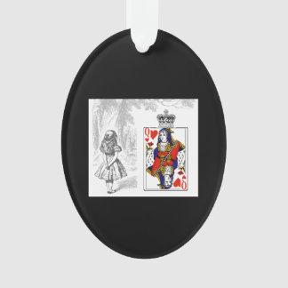 Alice et la reine de l'ornement de coeurs