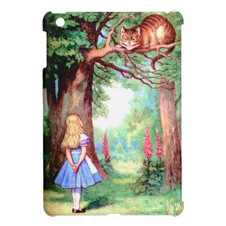 Alice et le chat de Cheshire au pays des Coque iPad Mini