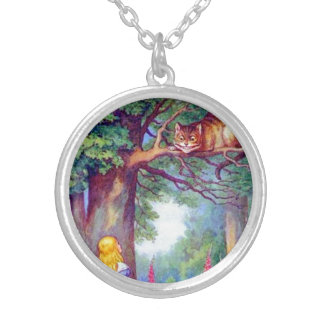 Alice et le chat de Cheshire Collier