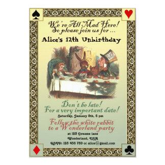 Alice in de Uitnodiging van de Partij van de