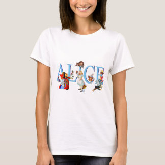 ALICE IN SPROOKJESLAND & VRIENDEN T SHIRT