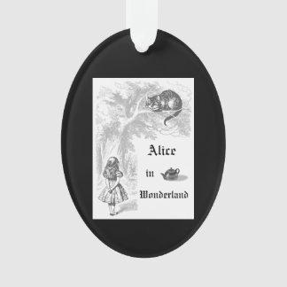 Alice vintage en ornement de Noël du pays des
