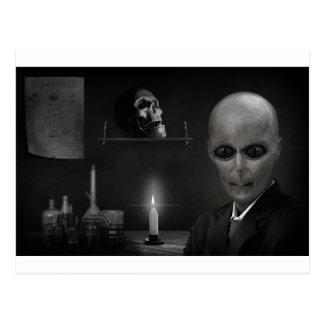 alien de roswell carte postale