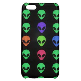 Aliens d'un cas différent de l'iPhone 5 de couleur Coque iPhone 5C