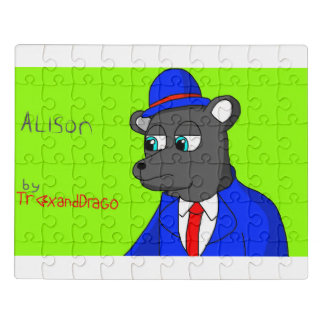 Alison le puzzle d'ours